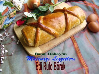 Etli Rulo Börek (görsel)