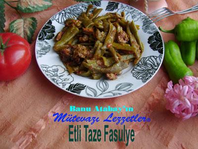 Etli Taze Fasulye (görsel)