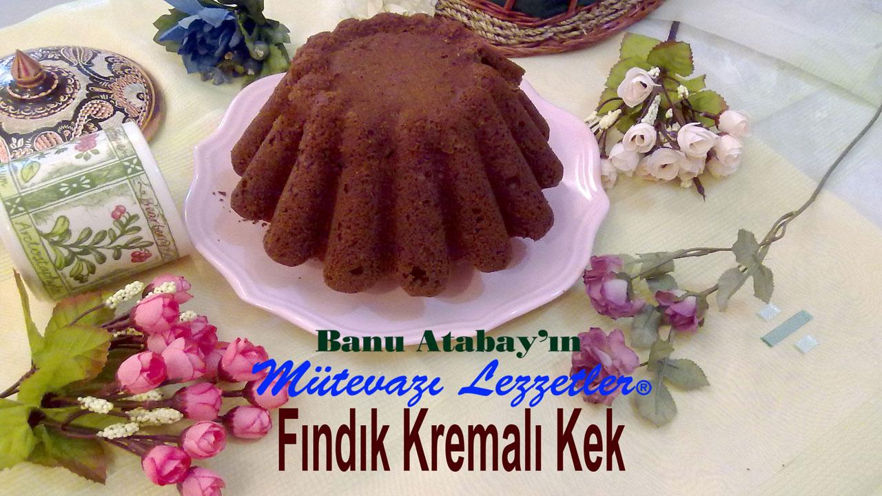Fındık Kremalı Kek (görsel)