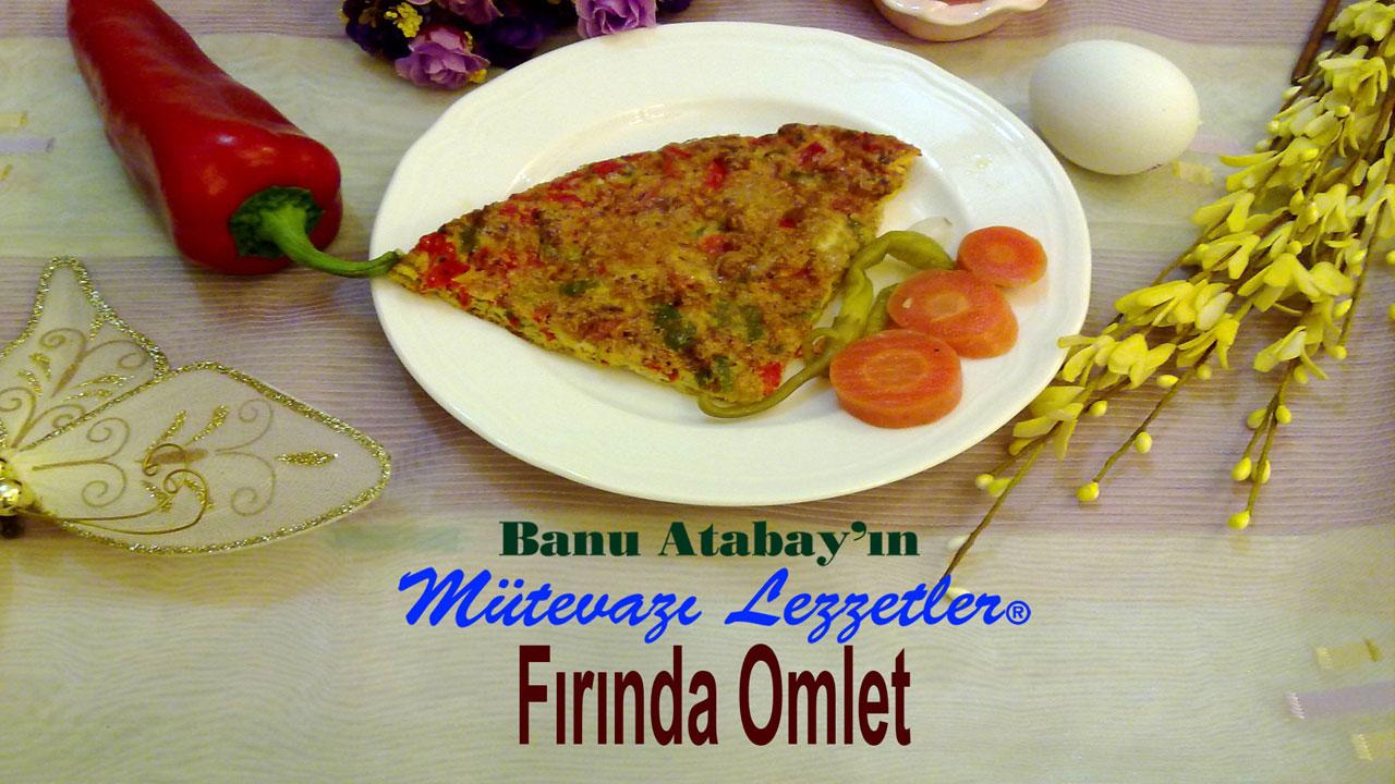 Fırında Omlet (görsel)