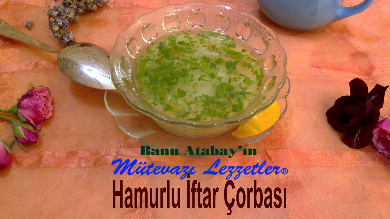 Hamurlu �ftar �orbas� (g�rsel)