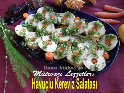 Havuçlu Kereviz Salatası (görsel)