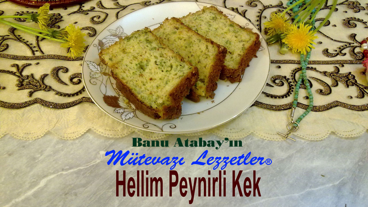 Hellim Peynirli Kek (görsel)