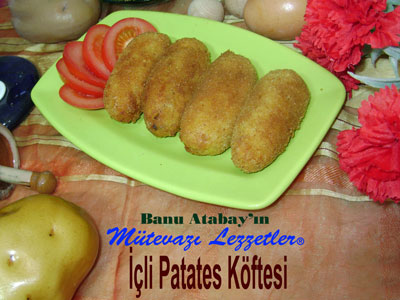 İçli Patates Köftesi (görsel)