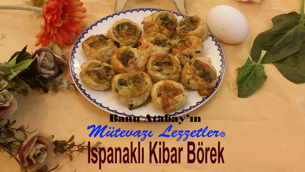 Ispanakl� Kibar B�rek (g�rsel)