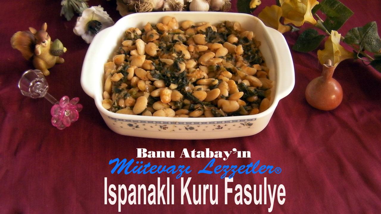 Ispanakl� Kuru Fasulye (g�rsel)