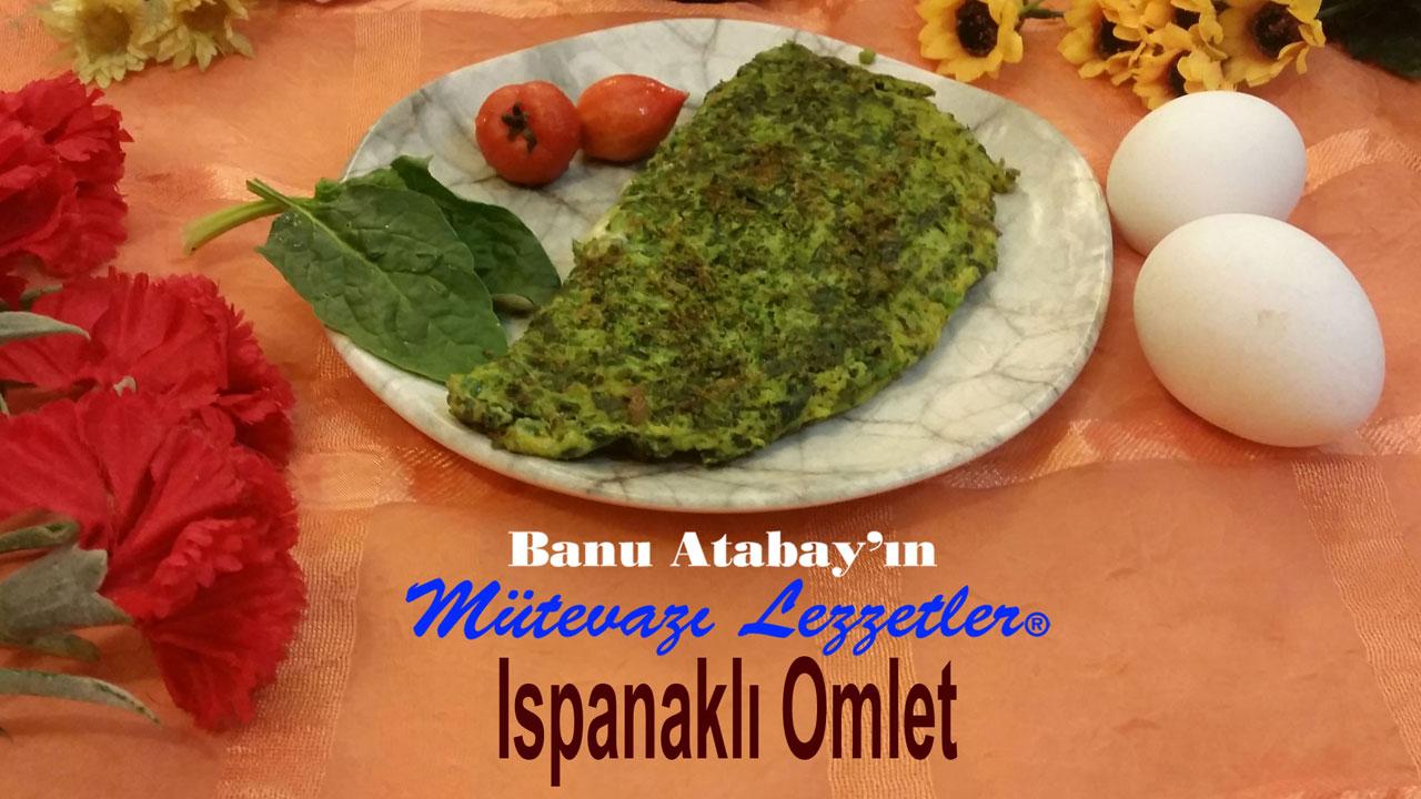 Ispanaklý Omlet (görsel)