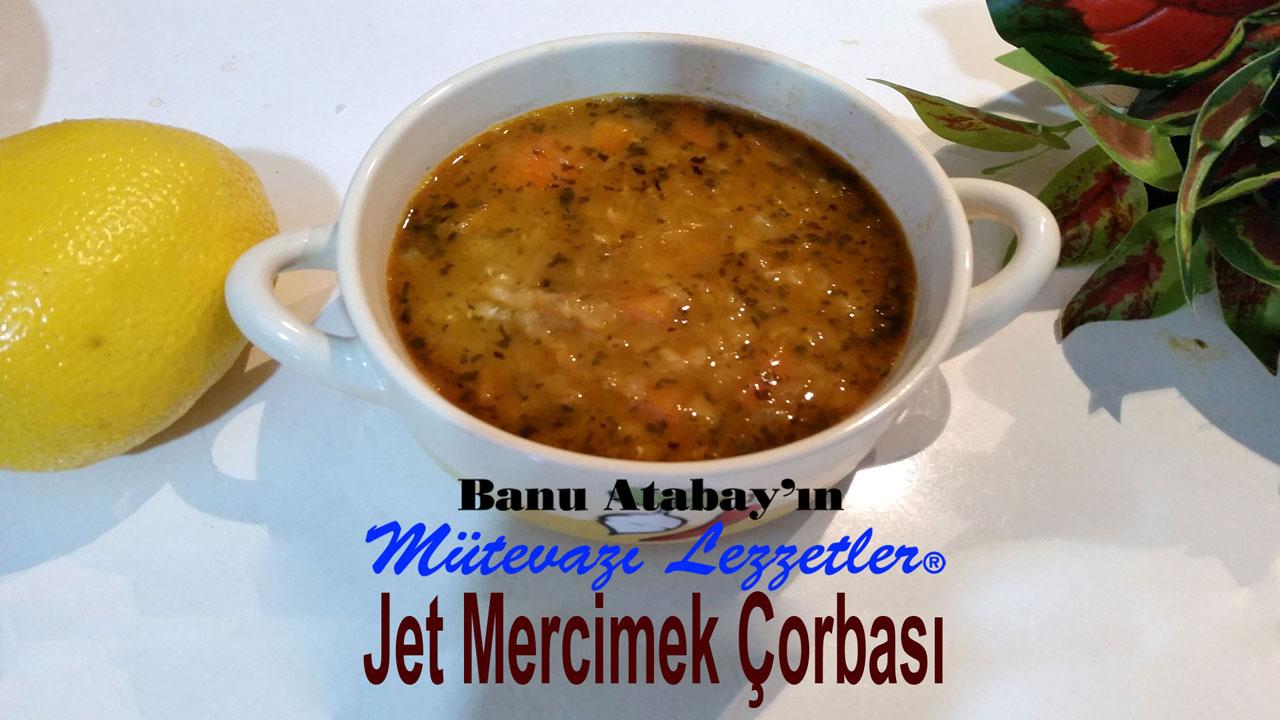 Jet Mercimek Çorbası (görsel)