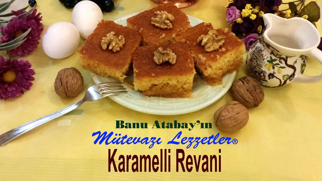 Karamelli Revani (görsel)