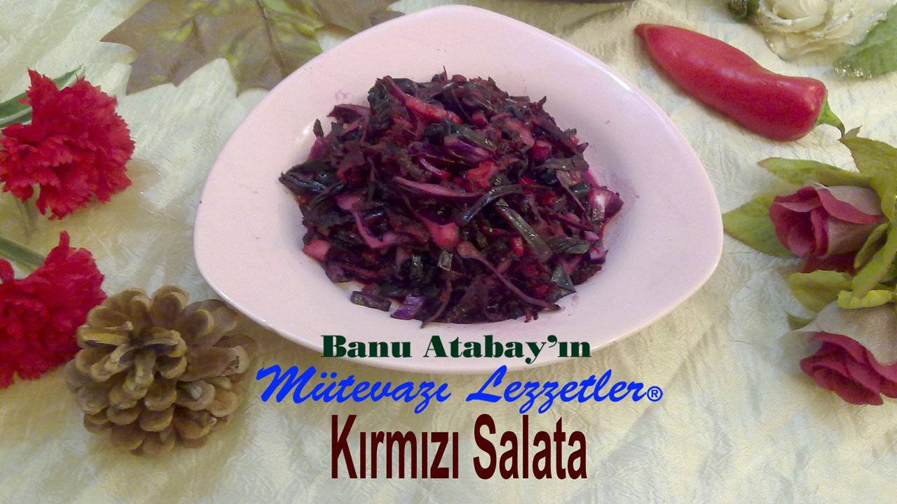 Kırmızı Salata (görsel)