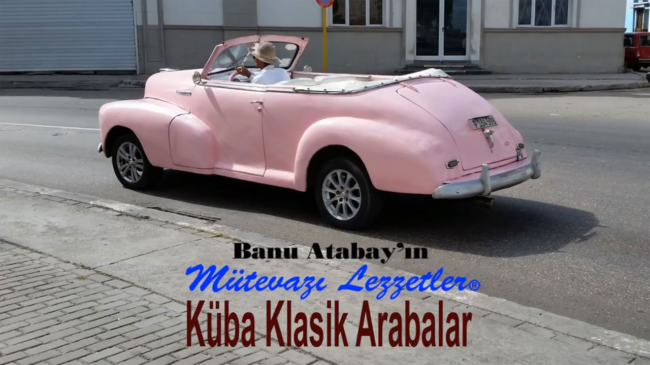 Küba Klasik Arabalar (görsel)