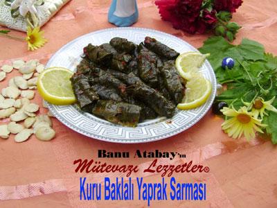 Kuru Baklal� Yaprak Sarmas� (g�rsel)
