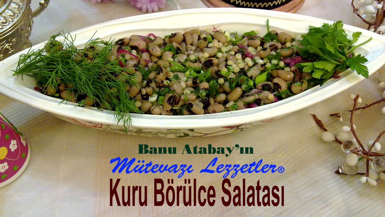 Kuru Börülce Salatası (görsel)