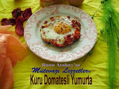 Kuru Domatesli Yumurta (g�rsel)