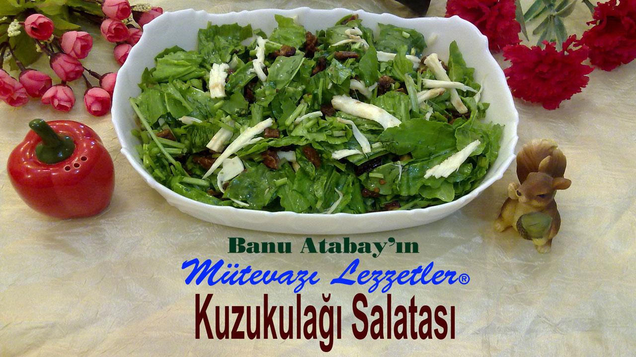 Kuzukulağı Salatası (görsel)