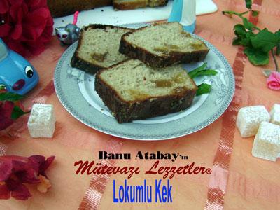 Lokumlu Kek (görsel)