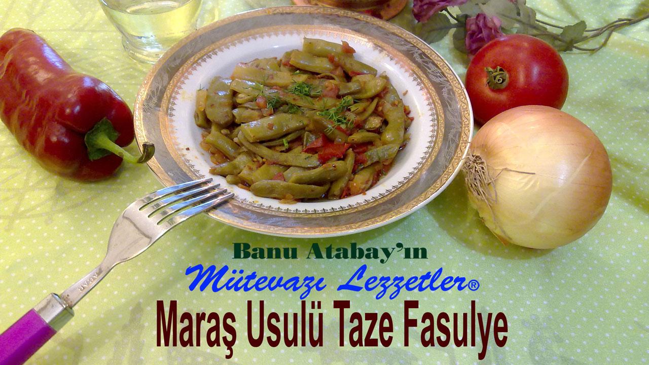 Maraþ Usulü Taze Fasulye (görsel)
