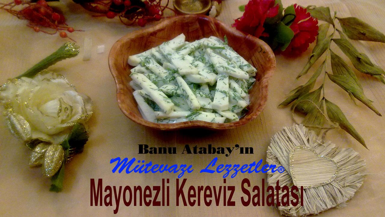 Mayonezli Kereviz Salatasý (görsel)
