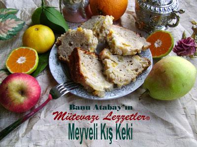 Meyveli Kış Keki (görsel)