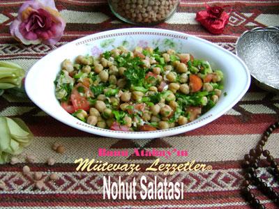 Nohut Salatası (görsel)