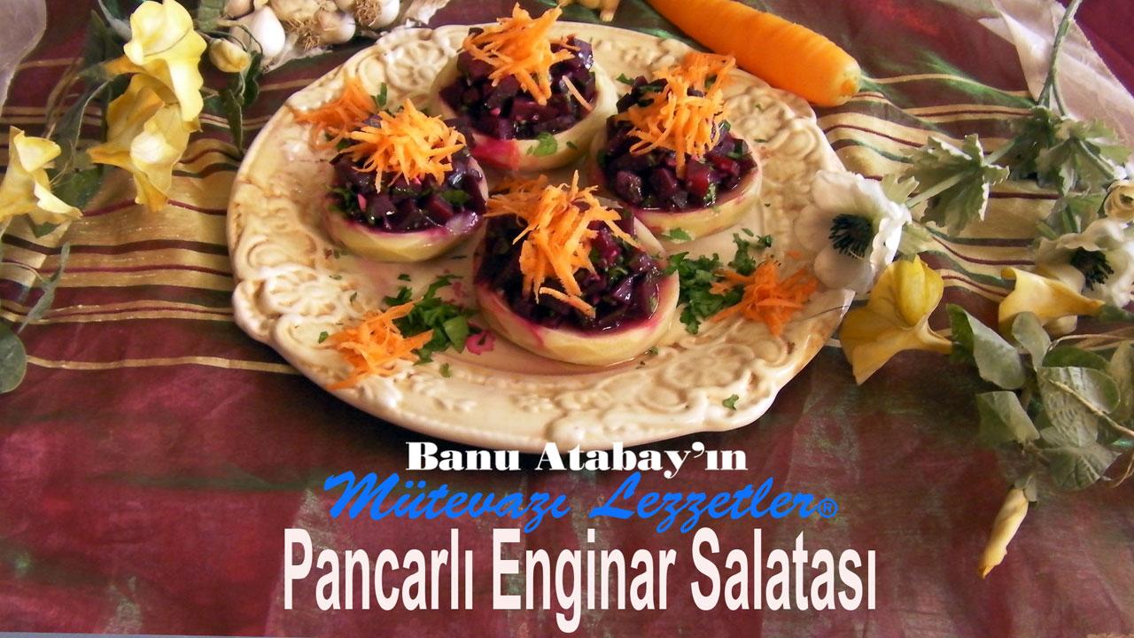 Pancarlı Enginar Salatası (görsel)