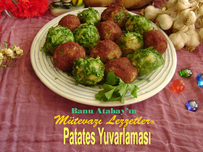 Patates Yuvarlaması (görsel)