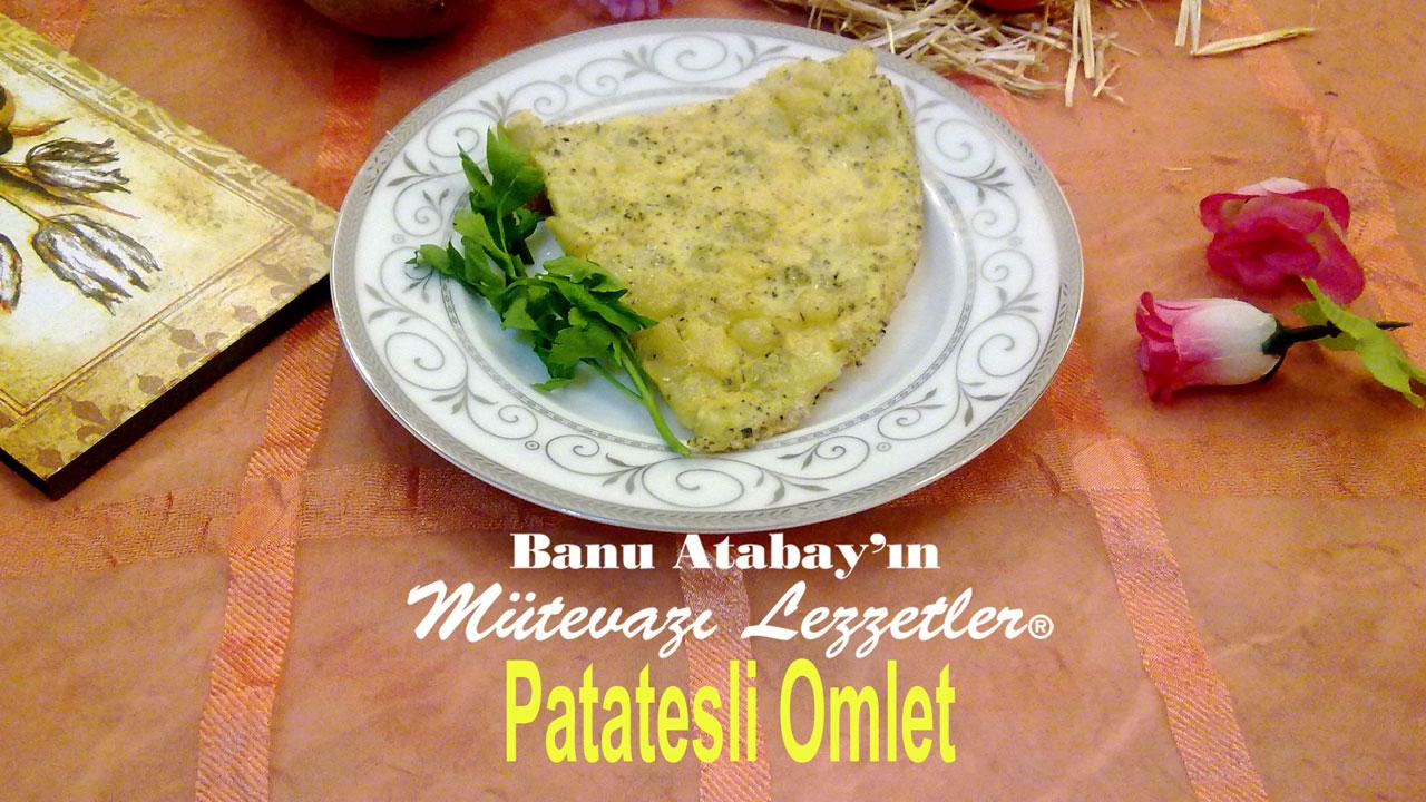 Patatesli Omlet (görsel)