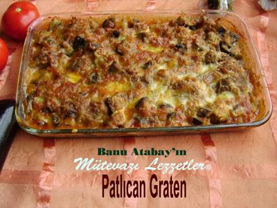 Patlıcan Graten (görsel)