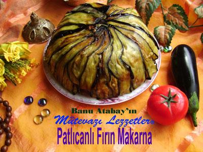 Patlıcanlı Fırın Makarna (görsel)