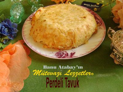 Perdeli Tavuk (görsel)