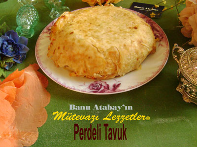 Perdeli Tavuk (g�rsel)
