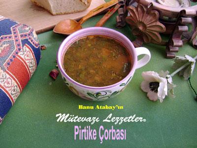 Pirtike Çorbası (görsel)