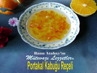 Portakal Kabuğu Reçeli (görsel)