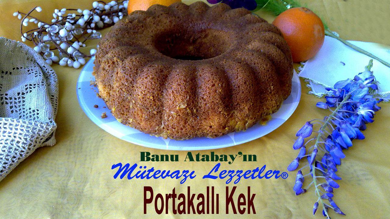 Portakallı Kek (görsel)