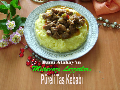 Püreli Tas Kebabı (görsel)