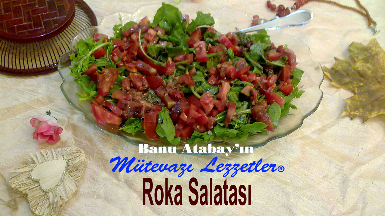 Roka Salatası (görsel)