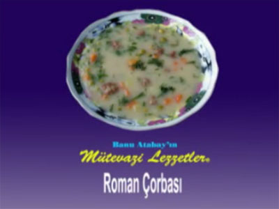 Roman Çorbası (görsel)