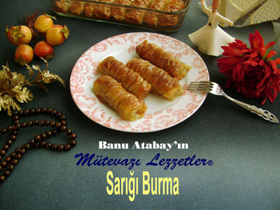 Sarığı Burma Tatlısı (görsel)