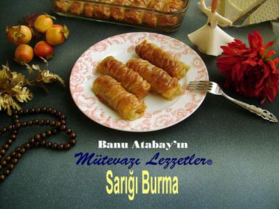 Sar��� Burma Tatl�s� (g�rsel)