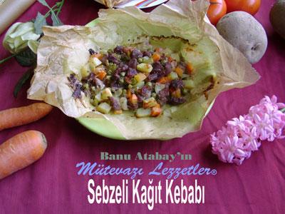 Sebzeli Kağıt Kebabı (görsel)