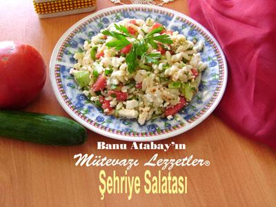Şehriye Salatası (görsel)