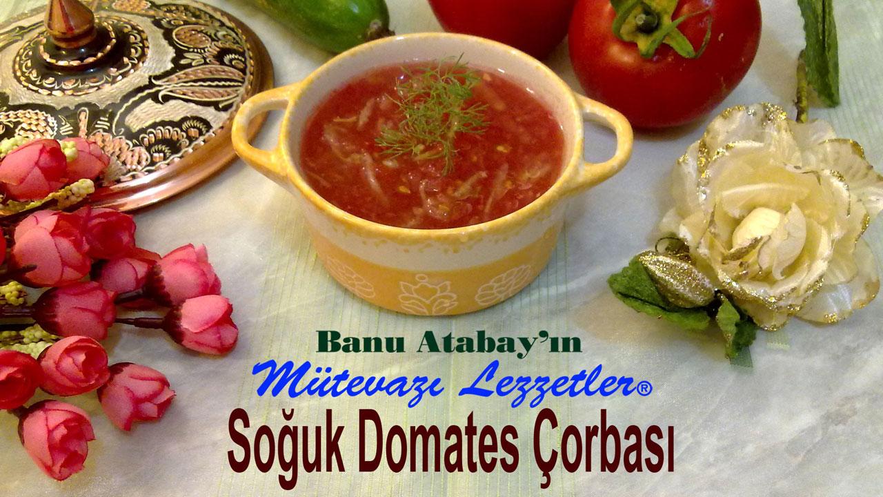 Soğuk Domates Çorbası (görsel)