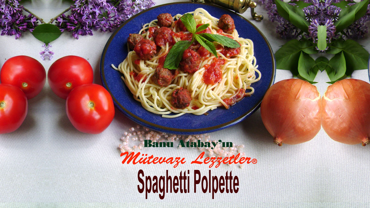 Spagetti Polpette (görsel)