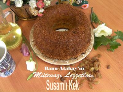 Susamlı Kek (görsel)
