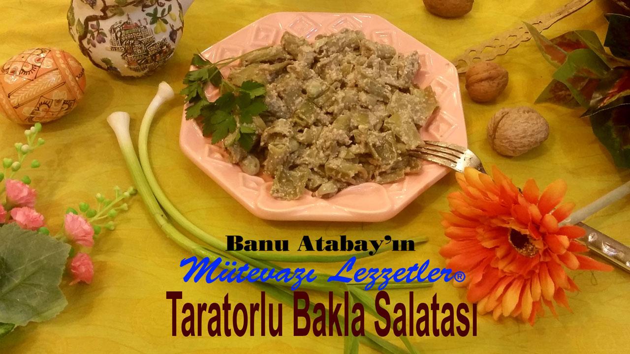 Taratorlu Bakla Salatası (görsel)