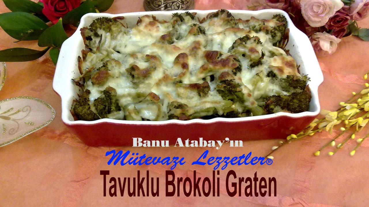 Tavuklu Brokoli Graten (görsel)
