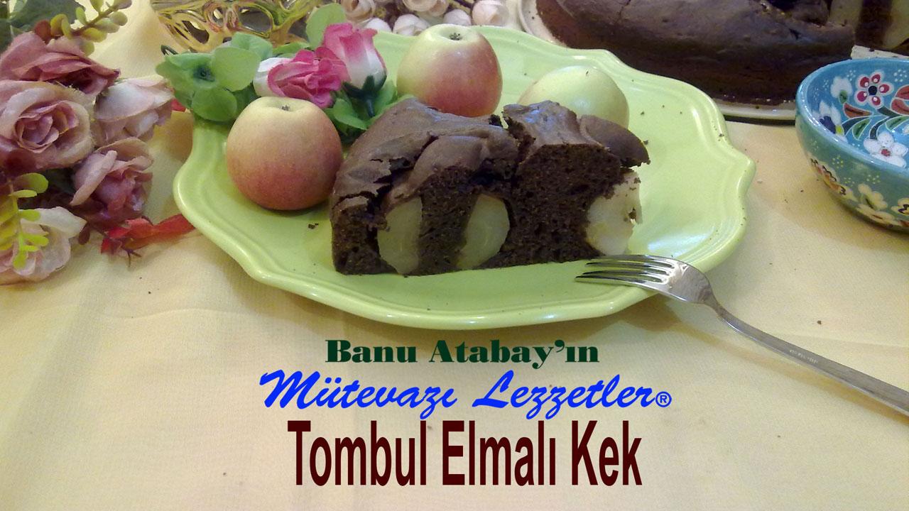 Tombul Elmalı Kek (görsel)