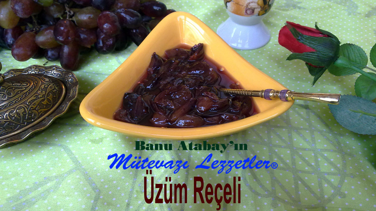 Üzüm Reçeli (görsel)