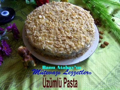 Üzümlü Pasta (görsel)