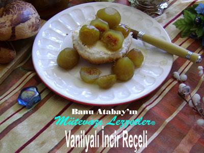 Vanilyal� �ncir Re�eli (g�rsel)